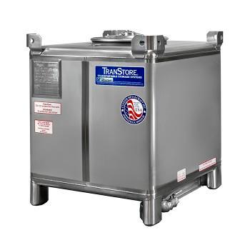 Totalizadores IBC de acero inoxidable- 550 Galones